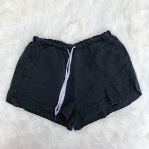 Brandy Melville Shorts - Brandy Melville Charcoal Eve Shorts